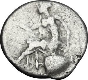 reverse: Bruttium, Terina. AR Stater, 440-425 BC