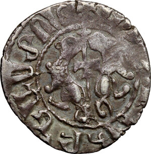 obverse: Armenia.  Levon I (1187-1219).. AR Tram