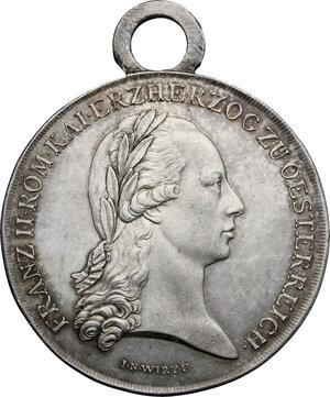 obverse: Austria.  Franz II/I (1792-1805-1835).. AR Medal of merit, 1797