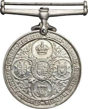 reverse: Great Britain.  Victoria (1837-1901).. AR Service medal of the Order of St. John (1898-1947)