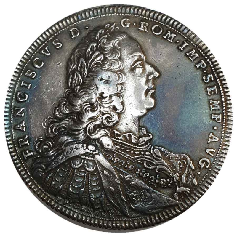 reverse: Germany, Holy Roman Empire, Schwäbisch Hall. Franz I. (1745-1765). 1 Thaler (taler) 1746