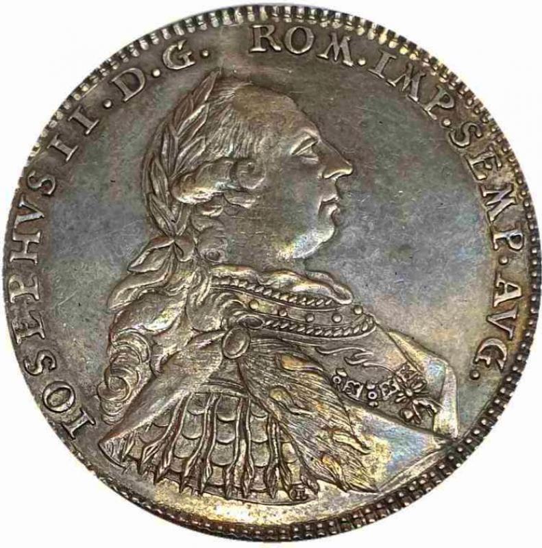 reverse: Germany, Schwäbisch Hall, Half Thaler Nuremberg 1777 KR - VERY RARE