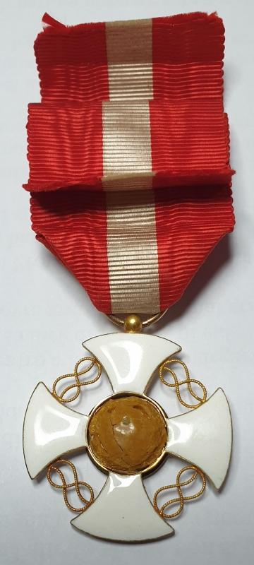 reverse: Italia. Onorificenza del Regno d Italia Croce Gran Maestro dell Ordine della Corona 36mm