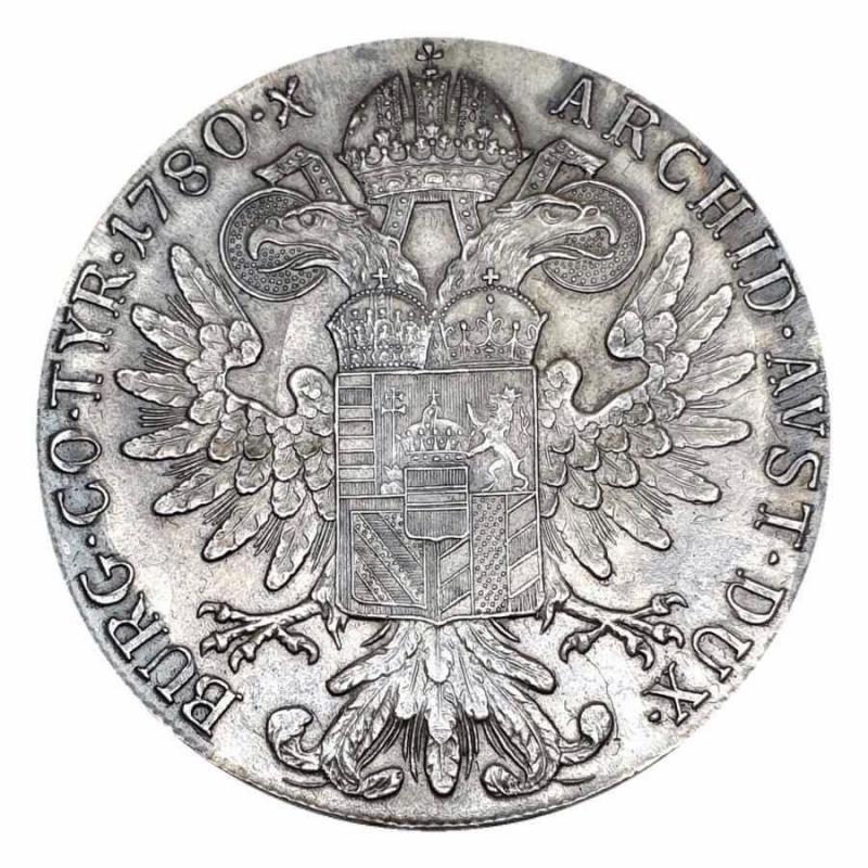 obverse: Austria - Impero Romano Tedesco 1780  RDR Habsburg