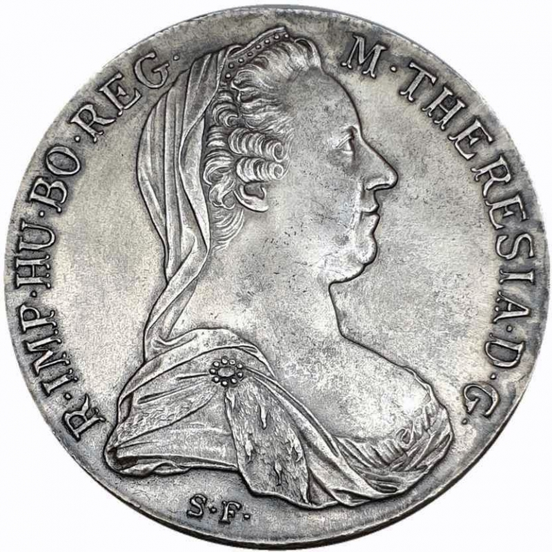 reverse: Austria - Impero Romano Tedesco 1780  RDR Habsburg