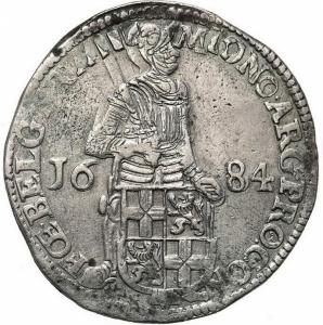 obverse:  Paesi Bassi - Utrecht - Taler (Thaler) (Silberdukaat) 1684 - Argento