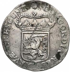 reverse:  Paesi Bassi - Utrecht - Taler (Thaler) (Silberdukaat) 1684 - Argento