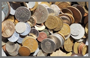 obverse: Lotto da 1/2 KG (circa 120 monete) di monete Mondiali, IXX - XX secolo.