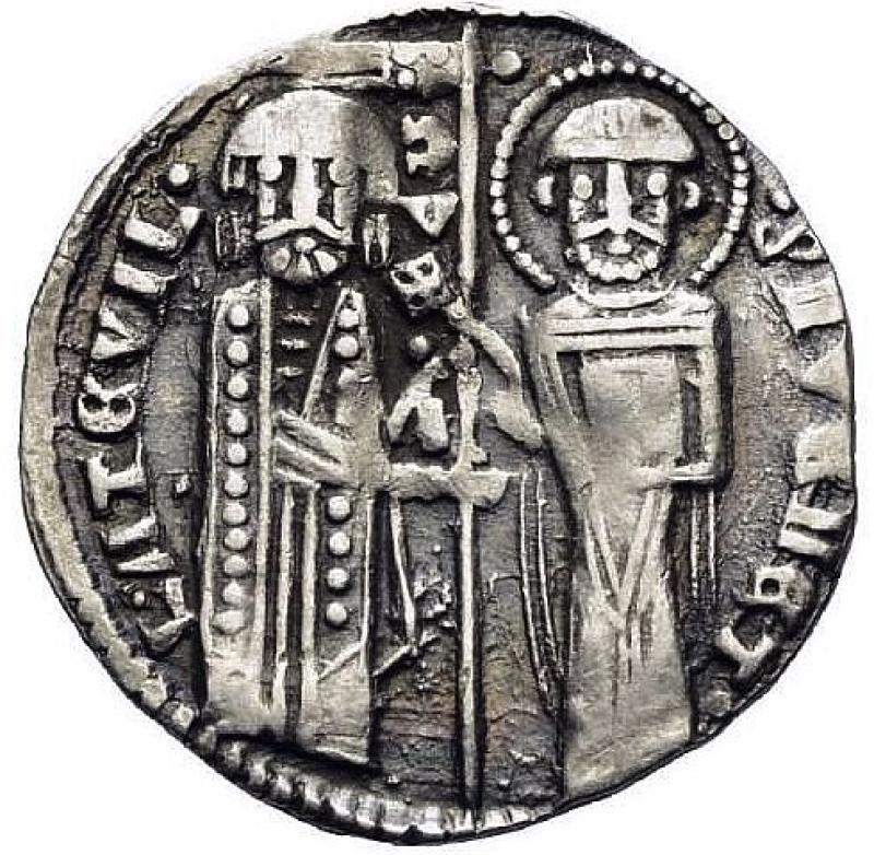 obverse: Venedig. Lorenzo Tiepolo (1268 - 1275).  Grosso (Silber).