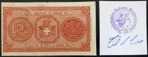 reverse: Regno d Italia Umberto I  2 Lire 1895 Molto Raro.
