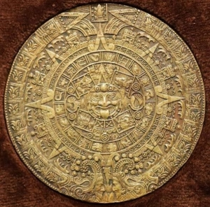 obverse: Messico - Grande Medaglia (79mm) calendario Atzeco SD - Confezione originale - Bronzo