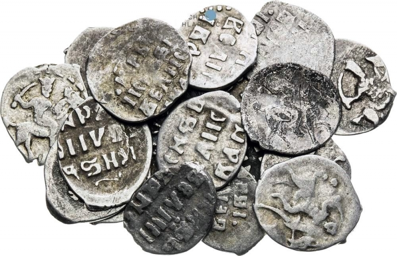 obverse: Russia, World coins Denga (20 pcs). Ivan IV the Terrible (1533-1584). Moscow.VF