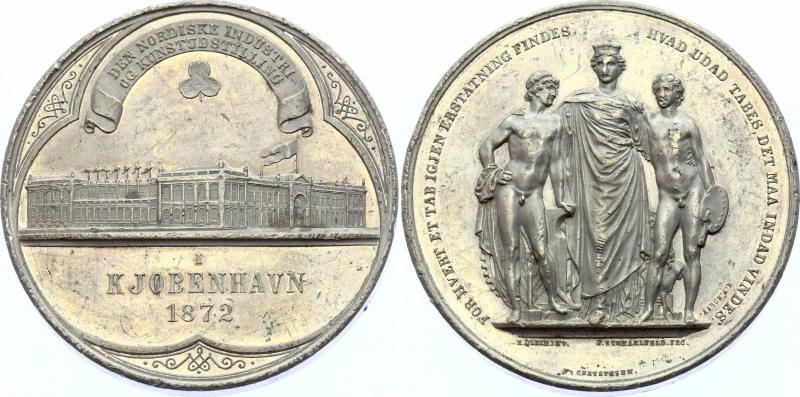 obverse: Danimarca. Medal