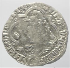 reverse: Zecche Italiane. Pavia. Galeazzo II Visconti. 1359-1378. Grosso da un soldo e mezzo.Peso 2,50 gr. Ag. Cast.1. BB+. R.