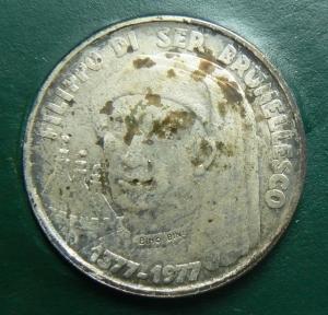 obverse: Zecche Italiane. San Marino. 1000 lire 1977 in confezione. GG