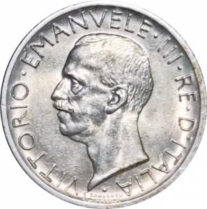 obverse: Casa Savoia. Vittorio Emanuele III. 5 lire 1927**. FDC. Eccezionale freschezza. Esemplare con grande lustro su fondi satinati. Ag. rf