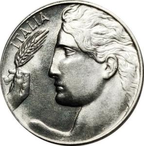 obverse: Casa Savoia. Vittorio Emanuele III. 20 Centesimi Librata 1919. FDC. NC. Di grande freschezza e lucentezza. rf