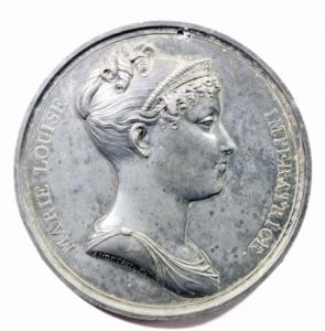 obverse: Medaglie. Parma. Maria Luigia Imperatrice. Medaglia uniface in stagno. Diametro 68,00 mm. BB+.*