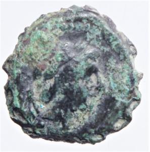 obverse: Mondo Greco. Lydia. Sardes. Antioco III. 133 a.C. D\ Testa laureata di Herakle verso destra. R\ Apollo entro cerchio di lauro. Peso 2,75 gr. Diametro 12,3 mm. BB....