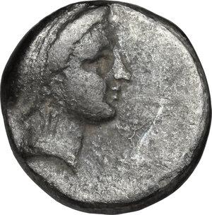 obverse: Central and Southern Campania, Neapolis. AR Didrachm, circa 320-300 BC