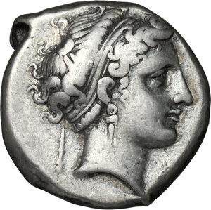 obverse: Central and Southern Campania, Neapolis. AR Didrachm, 300-275 BC