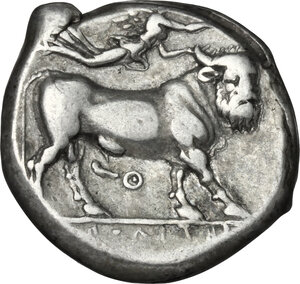 reverse: Central and Southern Campania, Neapolis. AR Didrachm, 300-275 BC