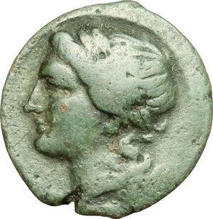 obverse: Central and Southern Campania, Neapolis. AE, 275-250 BC