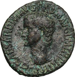 obverse: Caligula (37-41).. AE As, 40-41