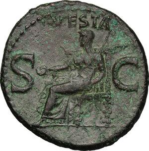 reverse: Caligula (37-41).. AE As, 40-41