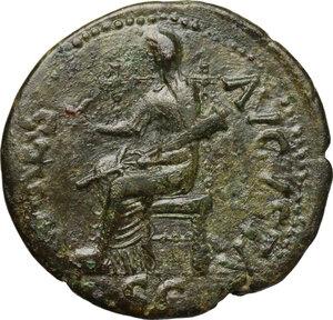 reverse: Claudius (41-54).. AE Dupondius, 50-54