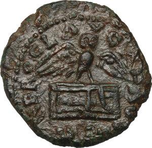 obverse: Nero (54-68).. AE Quadrans, 62-68