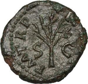reverse: Nero (54-68).. AE Quadrans, 62-68