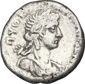 reverse: Nero (54-68).. BI Tetradrachm, Alexandria mint. Dated year 14 (67-68 AD)