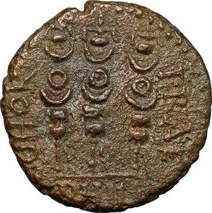 reverse: Claudius to Nero (c. 41-68).. AE Macedon, Philippi mint, pseudo-autonomous issue, 41-68