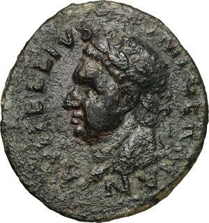 obverse: Vitellius (69 AD).. AE As, Tarraco mint