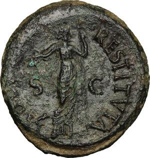 reverse: Vitellius (69 AD).. AE As, Tarraco mint