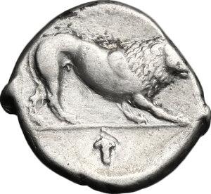 reverse: Northern Lucania, Velia. AR Didrachm, period VII, ca. 300 - ca. 280 BC