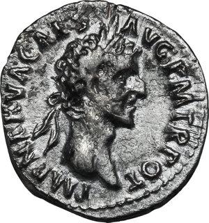 obverse: Nerva (96-98).. AR Denarius, Rome mint. Struck 97 AD