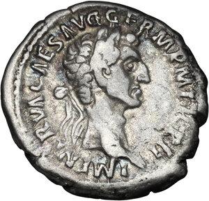 obverse: Nerva (96-98).. AR Denarius, 98 AD