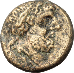 obverse: Northern Lucania, Velia. AE 15mm, late 5th century