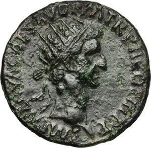 obverse: Nerva (96-98).. AE Dupondius, 97 AD