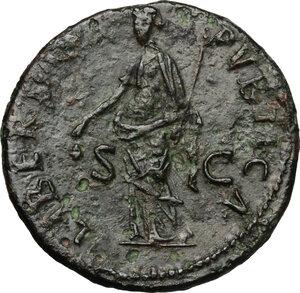 reverse: Nerva (96-98).. AE Dupondius, 97 AD
