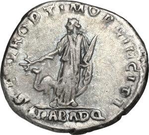 reverse: Trajan (98-117).. AR Denarius, Rome mint. Struck circa 112-113 AD