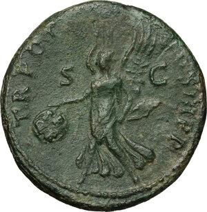 reverse: Trajan (98-117).. AE As, 99-100