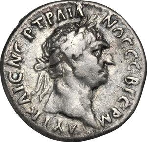 obverse: Trajan (98-117).. AR Drachm. Struck AD 98-99, Lycian League