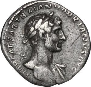 obverse: Hadrian (117-138).. AR Denarius, Rome mint. Struck circa 118 AD