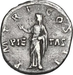 reverse: Hadrian (117-138).. AR Denarius, Rome mint. Struck circa 118 AD