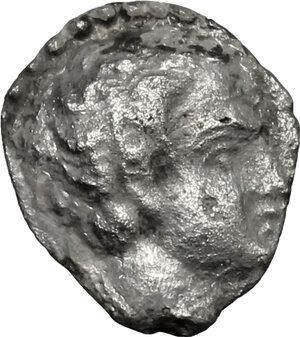 obverse: Etruria, Populonia. AR Diobol (?), 3rd century BC