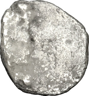 reverse: Etruria, Populonia. AR Diobol (?), 3rd century BC