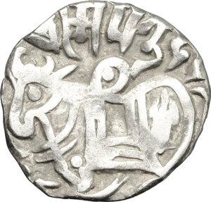 obverse: Afghanistan.  In the name of Samanta Deva.. AR Jital, Kabul mint, 850-100